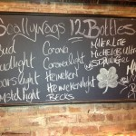 Scallywags NYC bottles
