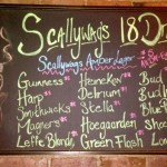 Scallywags NYC drafts